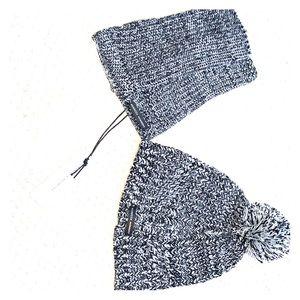 Rebecca minkoff beanie and arm warmer set